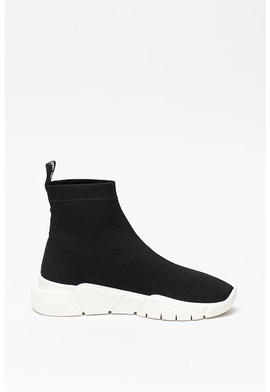Love Moschino Pantofi sport inalti cu terminatie tip soseta Femei