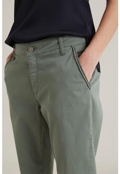 Oltre Pantaloni conici din amestec de lyocell Femei