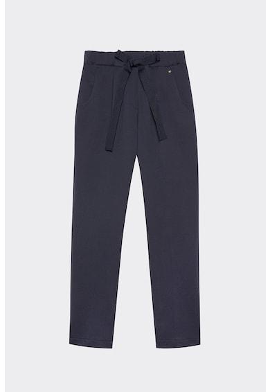 Motivi Pantaloni din amestec de bumbac cu funda Femei