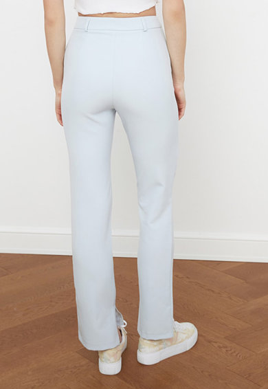 Trendyol Pantaloni cu talie inalta Femei