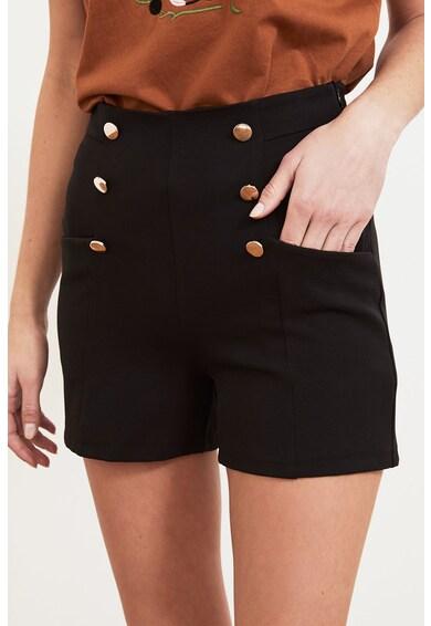 Trendyol Pantaloni scurti cu nasturi decorativi Femei