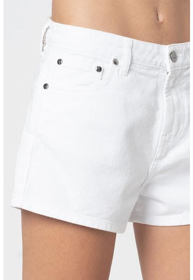 Sundek Pantaloni scurti de denim cu aplicatie logo brodata pe partea din spate Femei