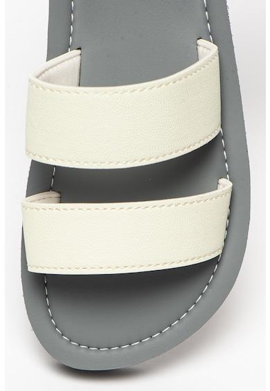 SUPERDRY Papuci de piele ecologica cu calapod ingust Premium Femei