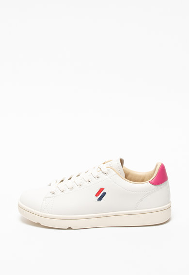 SUPERDRY Pantofi sport de piele ecologica Femei