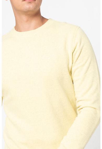 SUPERDRY Bluza sport cu decolteu la baza gatului si logo brodat pe piept Barbati