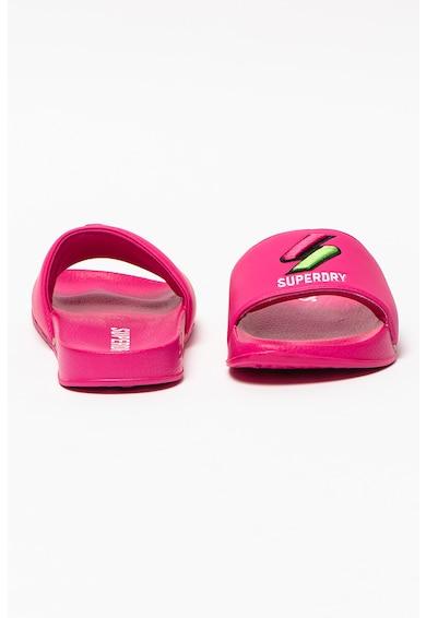 SUPERDRY Papuci de cauciuc cu logo Femei