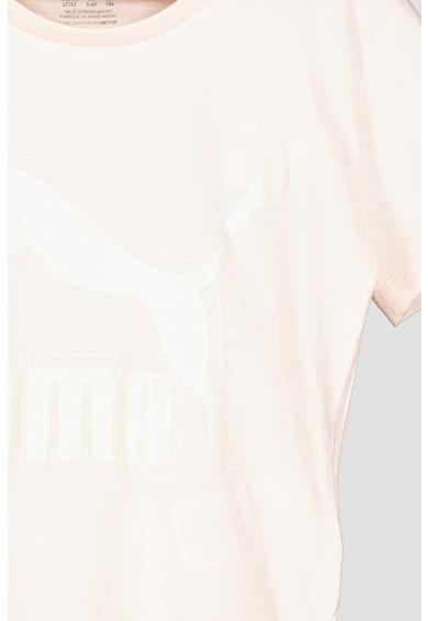 Puma Tricou cu imprimeu logo pentru fitness Classics Fete