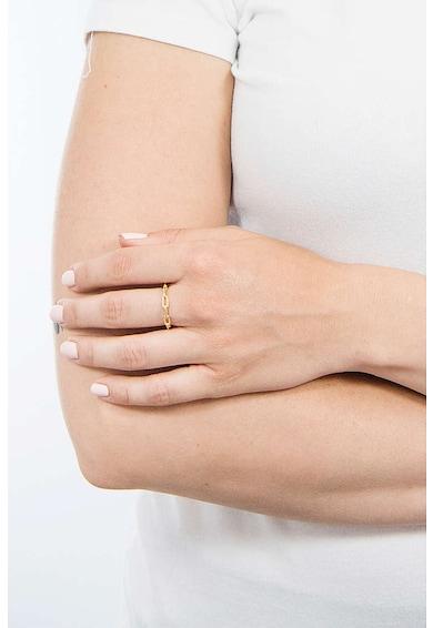 PDPAOLA Inel placat cu aur de 18K Femei