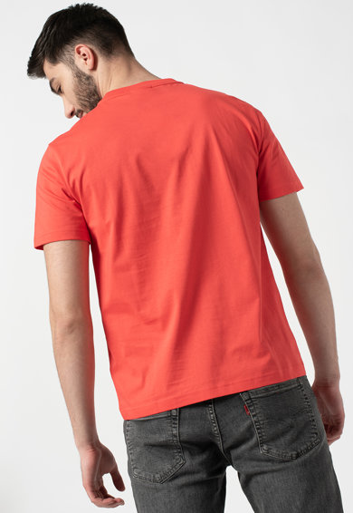 CALVIN KLEIN Tricou de bumbac organic cu logo pe piept Barbati