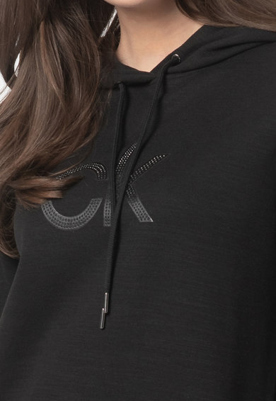 CALVIN KLEIN Rochie tip hanorac cu logo Femei
