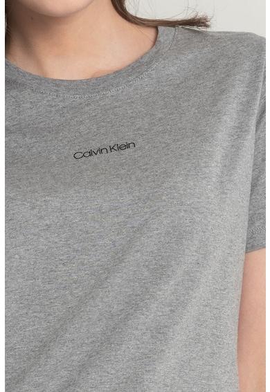CALVIN KLEIN Tricou regular fit din bumbac organic cu logo Femei