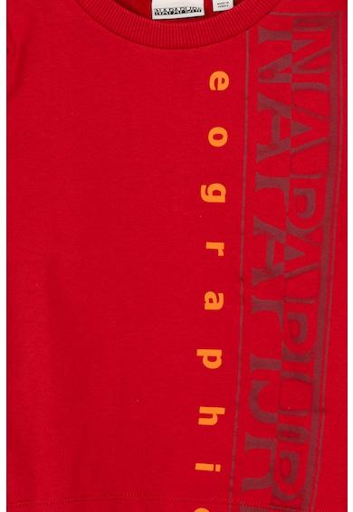 Napapijri Bluza sport cu logo supradimensionat K Badyr C Fete