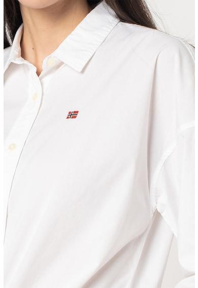 Napapijri Camasa cu logo brodat Femei