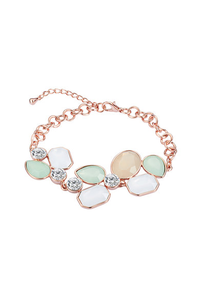 Highstreet Jewels Bratara din lant decorata cu cristale Femei