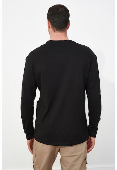 Trendyol Bluza sport cu maneci cazute si buzunar aplicat Barbati