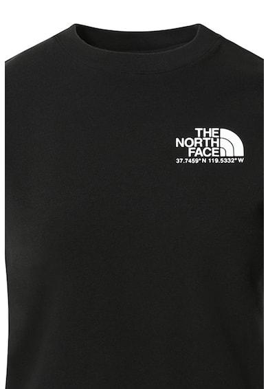 The North Face Tricou cu imprimeu logo Coordinates Femei