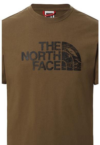 The North Face Tricou cu logo Woodcut Dome Barbati