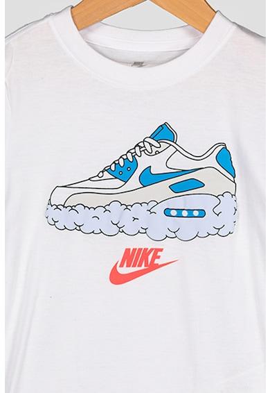Nike Tricou cu imprimeu grafic Airmax Clouds Baieti
