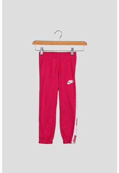Nike Trening cu fermoar si benzi laterale cu logo Fete