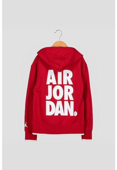 Nike Hanorac cu imprimeu logo Jordan Jumpman Air Baieti