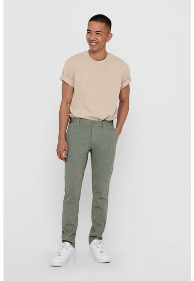 Only & Sons Pantaloni chino cu buzunare laterale Barbati