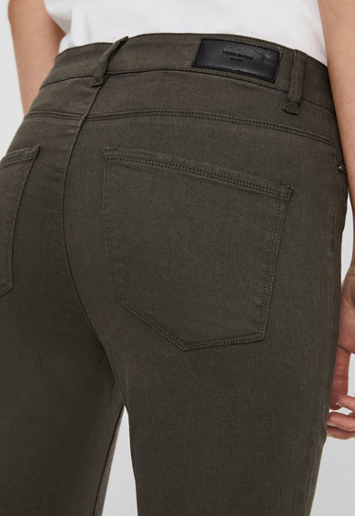 Vero Moda Pantaloni slim fit cu slituri cu fermoar la nivelul gleznei Femei