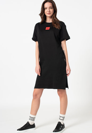 HUGO Rochie lejera tip tricou Neyle Femei