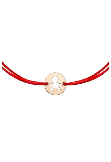 Zea et Sia Bratara tip snur cu talisman din aur de 14K Fete