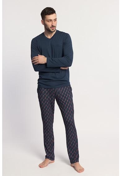 Sofiaman Pijama cu bluza cu maneci lungi Grant Barbati