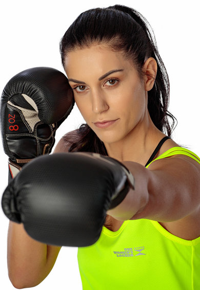 THE WOMEN'S LOCKER Top cu detaliu logo, pentru fitness Femei