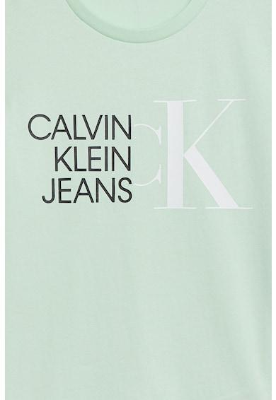 CALVIN KLEIN Tricou din bumbac organic cu logo Fete