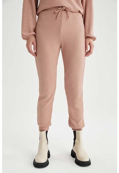 DeFacto Pantaloni sport cu aspect striat Femei