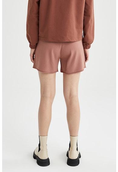 DeFacto Pantaloni scurti tricotati fin cu snur Femei