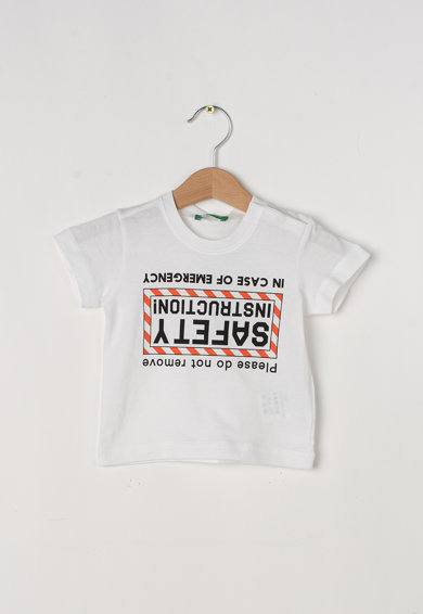 United Colors of Benetton Tricou cu imprimeu grafic Baieti