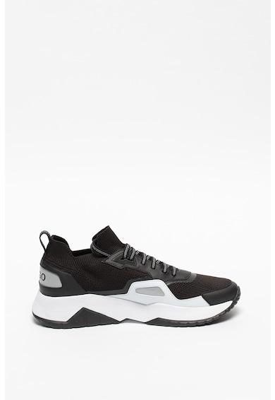 HUGO Pantofi sport de plasa cu model soseta Atom Barbati