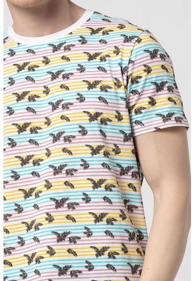 !Solid Tricou de bumbac cu imprimeu Rigs Barbati