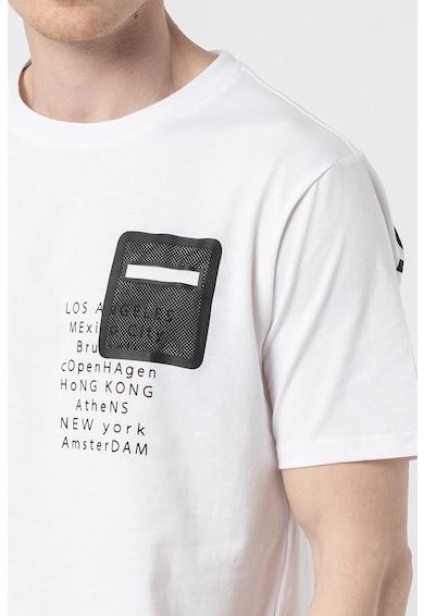 !Solid Tricou cu imprimeu cu mesaj Reuben Barbati