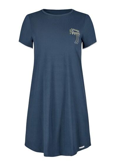 Skiny Camasa de noapte cu imprimeu pe piept Femei