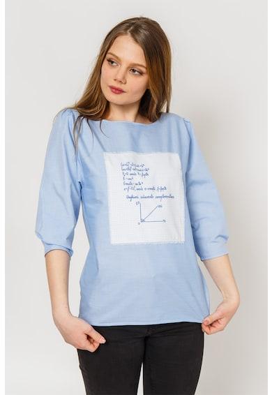 Atelier Merci Bluza cu imprimeu grafic Femei
