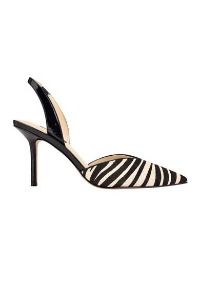 NINE WEST Pantofi slingback din piele ecologica cu toc inalt Hello Femei