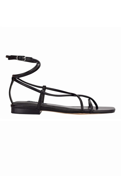 NINE WEST Sandale din piele ecologica cu varf patrat Mandie Femei