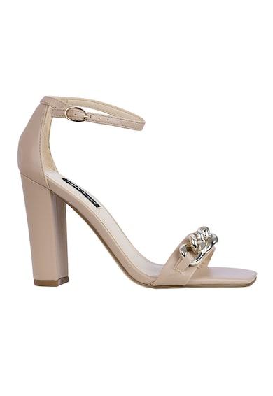 NINE WEST Sandale din piele ecologica cu toc inalt Mindful Femei