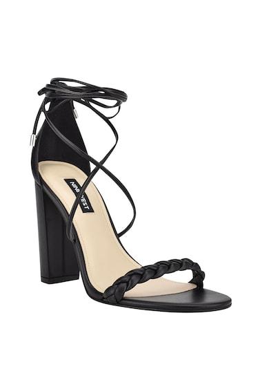 NINE WEST Sandale din piele ecologica cu toc inalt Monikka Femei