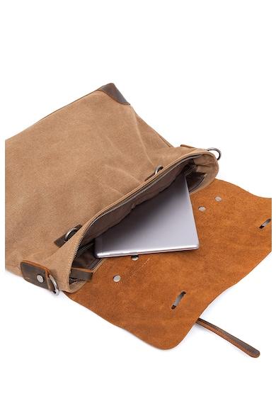 Urban Bag Geanta messenger unisex cu garnituri de piele Femei