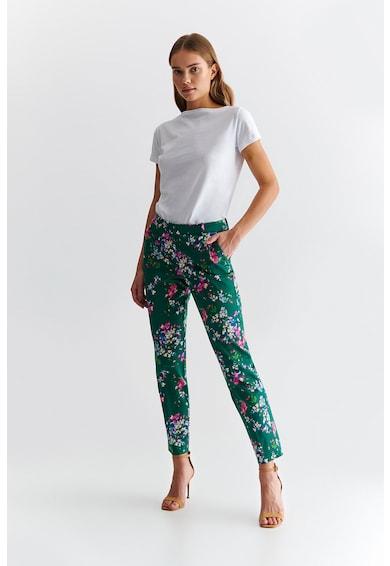 Tatuum Pantaloni slim fit cu imprimeu floral Juli Femei