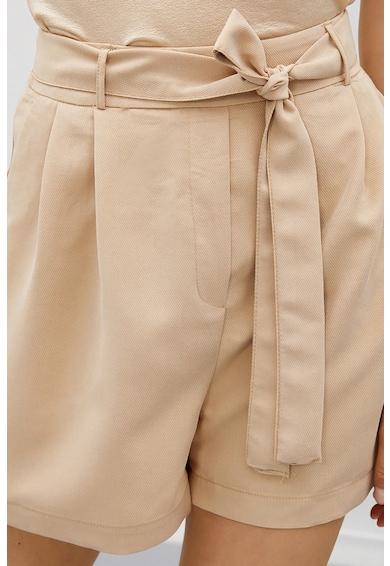 KOTON Pantaloni scurti din amestec de modal cu snur Femei