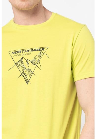 NORTHFINDER Tricou cu model grafic pentru drumetii Luciano Barbati