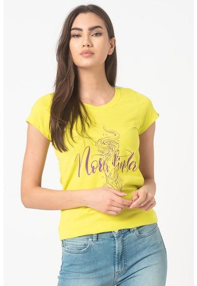 NORTHFINDER Tricou cu imprimeu grafic pentru fitness Lexi Femei