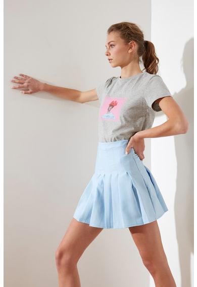 Trendyol Fusta mini cu pliuri Femei