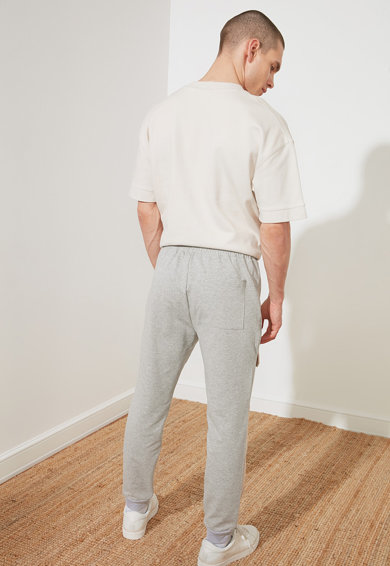 Trendyol Pantaloni sport cu benzi laterale contrastante Barbati